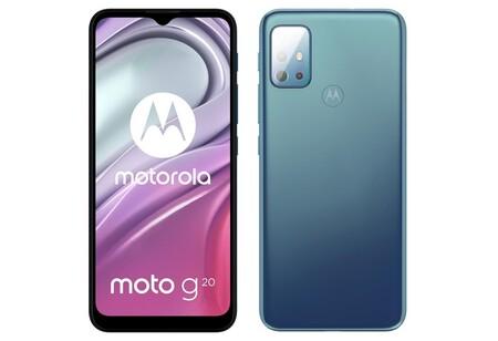 Motorola Moto G20 Oficial Diseno