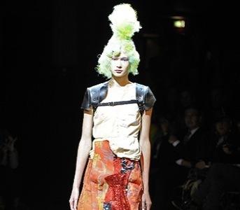 Comme des Garçons, Primavera-Verano 2010 en la Semana de la Moda de París