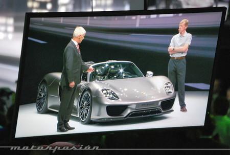 Salón de Frankfurt 2013 - Porsche 918 Spyder