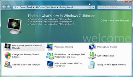 Más información y capturas de pantalla de Windows 7 Milestone 3