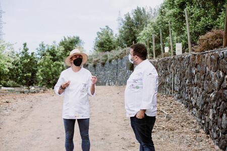 Ana Ros Juan Carlos Padron Inspirational Chef Program