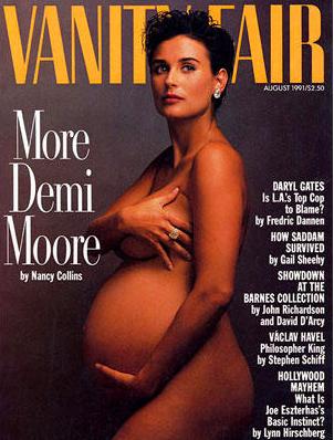 Demi fue la primera