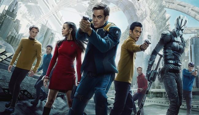 Cartel Star Trek Mas Alla