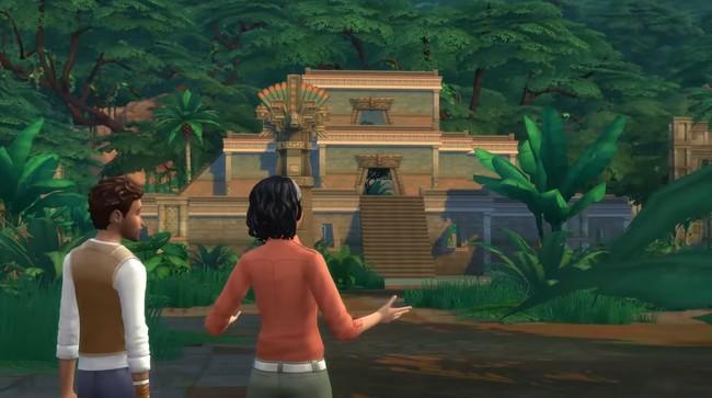 La expansión Los Sims 4: Aventuras en la Selva nos llevará este mes a explorar una jungla repleta de sorpresas, tesoros y peligros