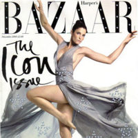 Stephanie Seymour para Harper's Bazaar The Icon Issue