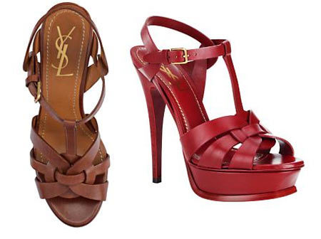 Tribute Sandals by Yves Saint Laurent