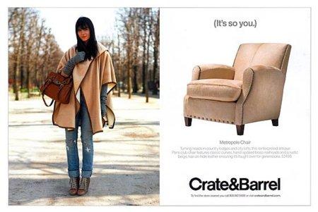 "Blogger power: ""The Cherry Blossom girl"" imagen de Crate & Barrel. ¿Quieres su look?"