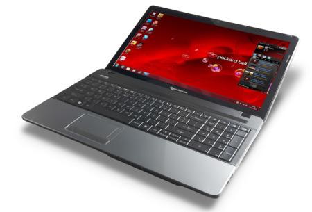 Packard Bell Easynote E, portátiles asequibles para la crísis