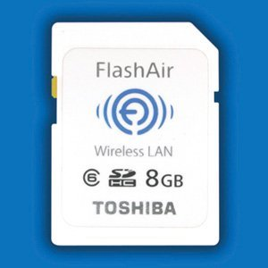 Toshiba oficializa sus tarjetas FlashAir: SD con WiFi