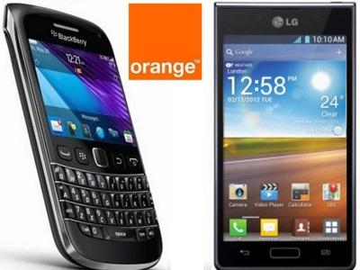 Precios LG Optimus L7 y Blackberry Bold 9790 con Orange