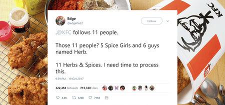KFC nos engañó a todos con su broma de Twitter de Hierbas y Especias, pero Reddit ha descubierto la verdad