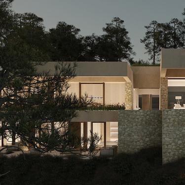 Puertas abiertas: Casa la Roca en absoluta armonía con su entorno montañoso al norte de Barcelona