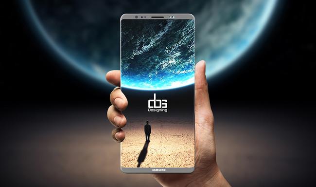 Galaxy Note ocho Concept Dbs