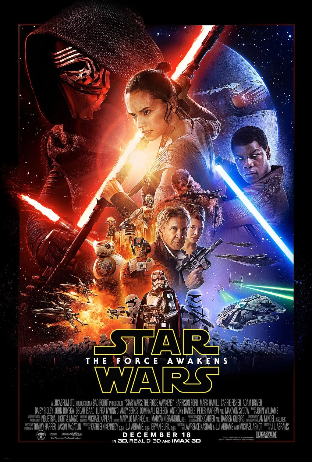 El póster de Star Wars 7 a mayor tamaño