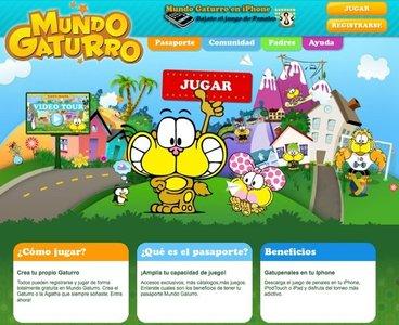 Mundo Gaturro es una red social virtual en Internet para niños de entre 4 y 12 años