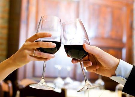 Romantic Wine Glasses
