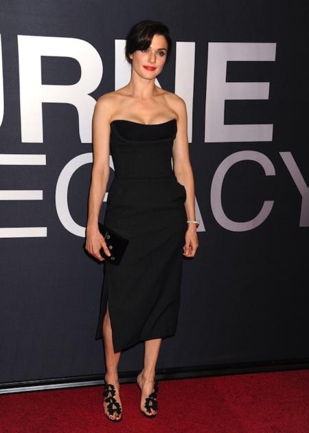 El look de Rachel Weisz en el estreno de su última película