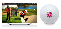 En breve podrás mejorar tu swing con la aplicación para golfistas de LG y sus Smart TV Cinema 3D