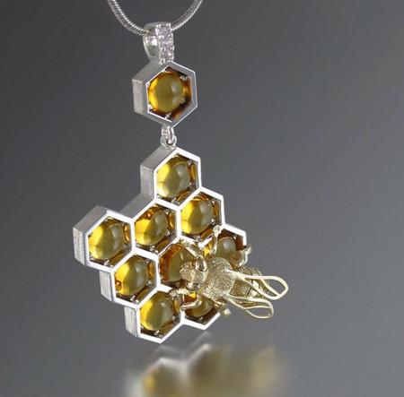 Estas piezas de joyería son tan dulces como la miel