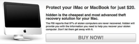 Hidden, protege tu Mac contra robos