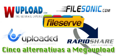 Cinco alternativas a Megaupload