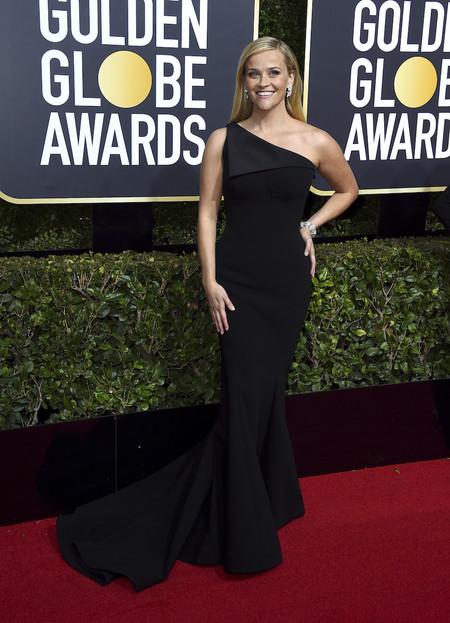 Reese Witherspoon Globos Oro 2018 zac posen
