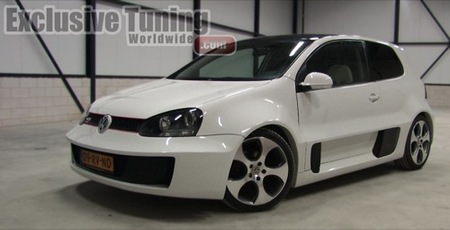 Volkswagen Golf GTI W12 Concept tuning