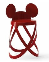 Un taburete inspirado en Mickey Mouse