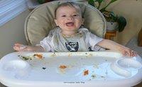 Dejar al bebé experimentar con la comida