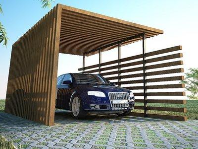 Soluciones estilosas y cercanas al hogar para resguardar los vehículos en verano