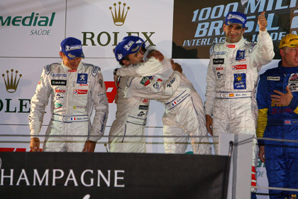 Peugeot Campeón de las Le Mans Series 2007