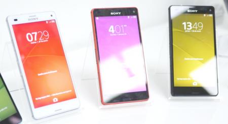 Sony Xperia Z3 Compact, toma de contacto