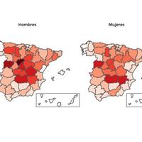 Segovia, -3,5 años; Tenerife, +1,1 años: así ha cambiado el Covid la esperanza de vida en cada provincia