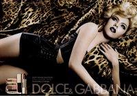 Scarlett Johansson para el maquillaje de otoño 2010 de Dolce & Gabbana