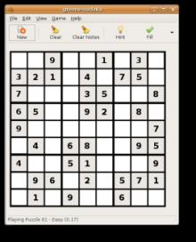El nuevo juego de Sudokus