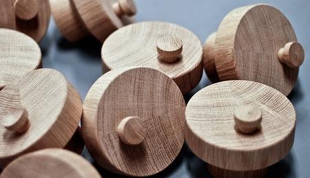 La adivinanza decorativa del viernes: piezas de madera