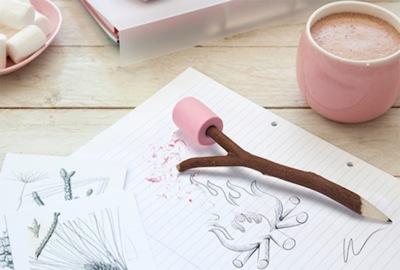 Un lápiz que te ayudará a soñar en la oficina con las vacaciones de verano