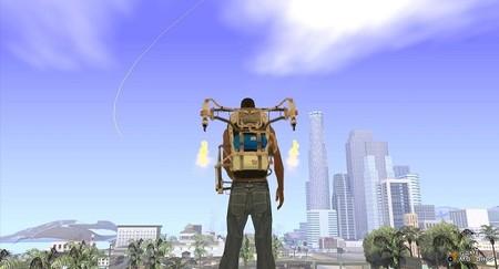 ¿Jetpack en GTA V?