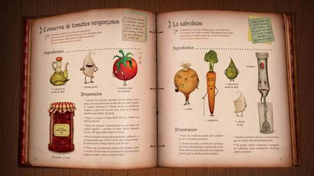 El recetario m gico un libro de cocina para ni os muy for Libro cocina para ninos