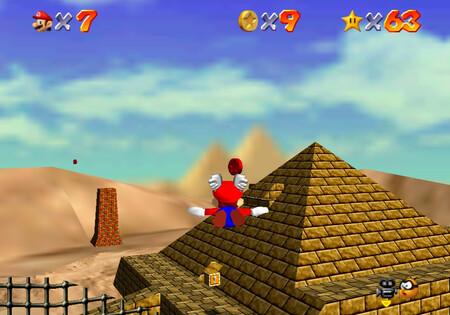 Super Mario 64: cómo conseguir la estrella Free Flying for 8 Red Coins de Shifting Sand Land