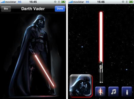 Lightsaber Unleashed de vuelta en la App Store