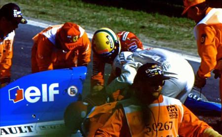 Ayrton Senna, Érik Comas - Spa 1992