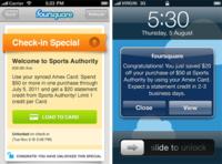 Foursquare admite promociones de pago con American Express desde dispositivos móviles
