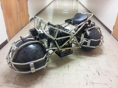 Spherical Drive System ¿Serán así las motos del futuro?