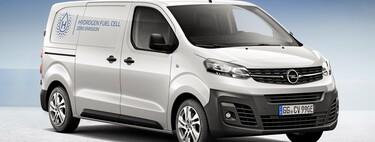 La Opel Vivaro-e HYDROGEN es una furgoneta de pila de combustible que puede recargarse si se agota el hidrógeno