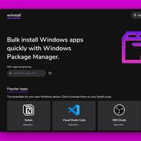 Winstall se perfila cada vez más como la mejor forma de instalar apps para Windows 10 rápido y en lote