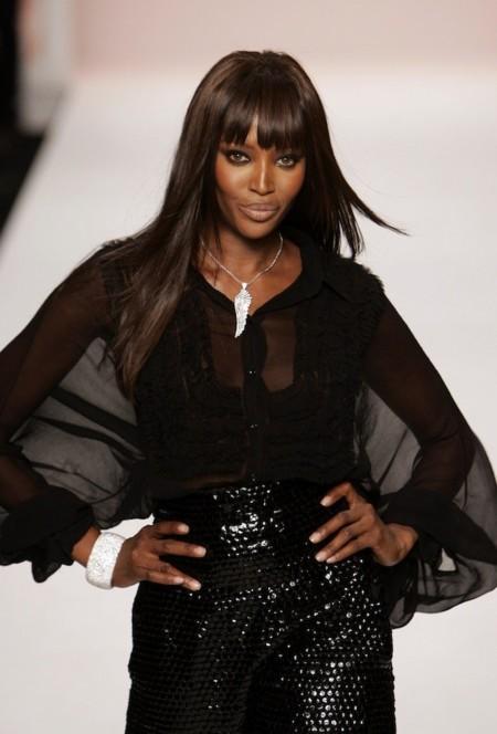 Naomi Campbell contra el racismo en las pasarelas
