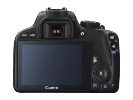 Canon 100D trasera pantalla
