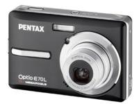 Pentax Optio E70L llega con un precio ajustado