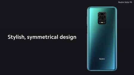 Xiaomi Redmi Note 9s Diseno